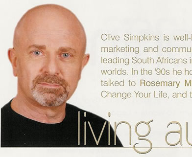 Odyssey Magazine review of Clive Simpkins book Change your Thinking Change your Life.